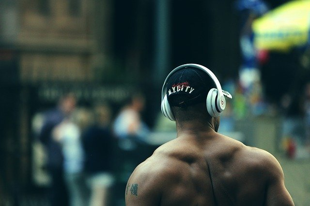 The collaboration between Intel and 50 Cent in launching heart-beat monitoring earphones